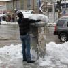 گزارش تصویری از بارش کم سابقه برف در ارومیه