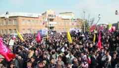 حضور پرشور مردم در جشن تولد انقلاب