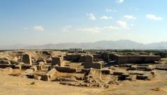 تپه باستانی حسنلوی نقده الگوی احداث تخت جمشید