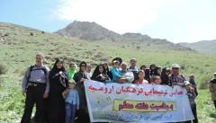 صعود گروه کوهنوردی فرهنگیان ارومیه به قله ماه داغی