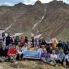 گروه کوهنوردی فرهنگیان ارومیه بوزسینه را فتح کرد