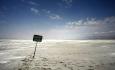 احتمال خشکی وجدا شدن شمال وجنوب  دریاچه ارومیه تا مهرماه