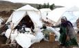 سرما در مناطق زلزله زده تا مغزاستخوان را میسوزاند