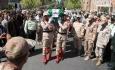 پیکر مطهر شهید علی ضیایی تشییع شد