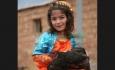 لبخند زیبای  باسم دنیا ویسی  زیر آوار مدرسه دفن شد