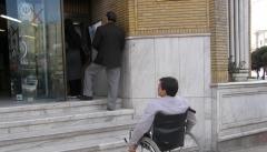 معابر و فضای شهری برای تردد معلولان در استان مناسب نیست