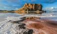 ۶۳ درصد از عرصه پارک ملی دریاچه ارومیه آب دارد