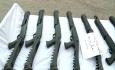 کشف ۱۳۵ قبضه اسلحه شکاری و جنگی در مرزهای آذربایجان غربی
