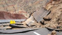 خطر رانش زمین ۸ شهرستان آذربایجان غربی  را تهدید می کند