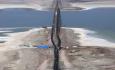 خاکریز دریاچه ارومیه یک بحران زیست محیطی است