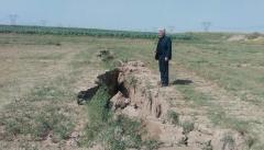 پدیده فرونشست زمین ۳ دشت آذربایجان غربی  را تهدید می کند