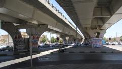 مخدوش شدن فضای شهری ارومیه با پوستر انتخاباتی